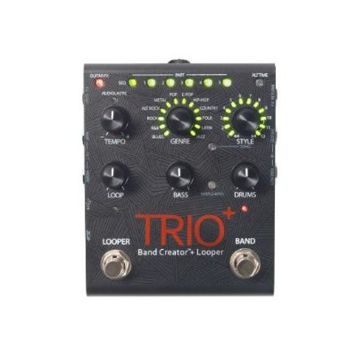Pedal Guitarra / Violão Looper Digitech Trio Plus