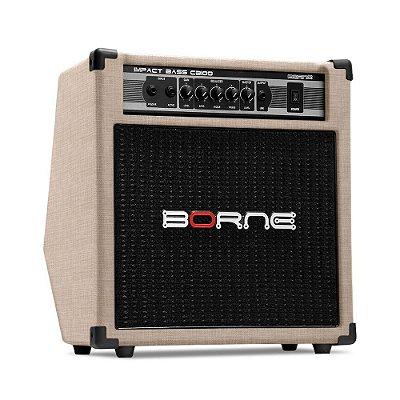 Amplificador Baixo Borne Impact Bass CB100 Palha 70W