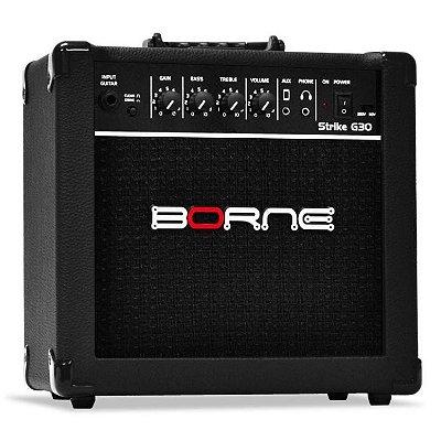 Amplificador Guitarra Borne Strike G30 BK 15W