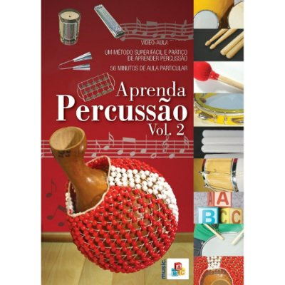 DVD Aprenda Percussão Vol. 2