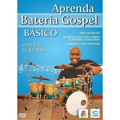 DVD Aprenda Bateria Gospel Básico