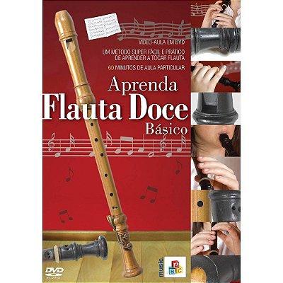 DVD Aprenda Flauta Doce Básico