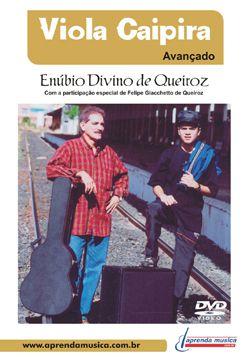 DVD Viola Caipira Avançado Enúbio Divino de Queiroz