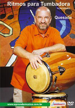 DVD Ritmos para Tumbadora Percussão Edson Quesada