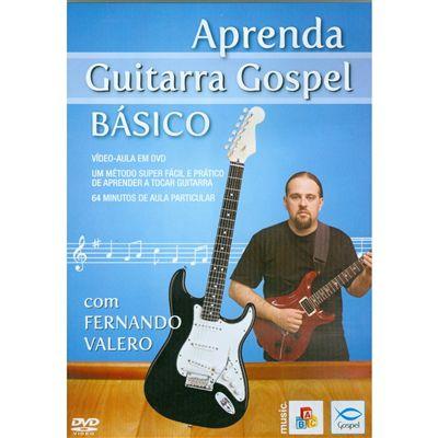 DVD Aprenda Guitarra Gospel Básico