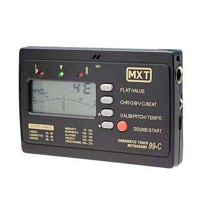 Afinador Metrônomo e Cromático MXT ET-99C