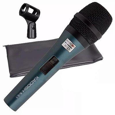 Microfone de Mão Kadosh K-3.1