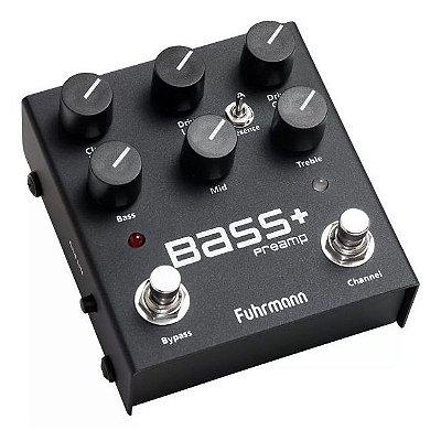 Pedal para Baixo Fuhrmann Bass+ Preamp
