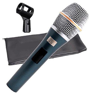 Microfone de Mão Kadosh Hiper Cardióide K-98