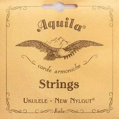 Encordoamento Ukulelê Aquila Tenor High G Reg New Nylgut