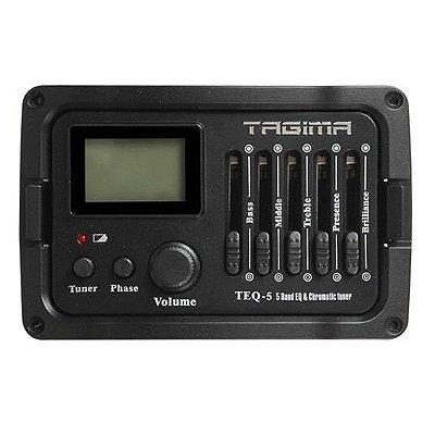 Pré-Amplificador Tagima TEQ 5 para Violão