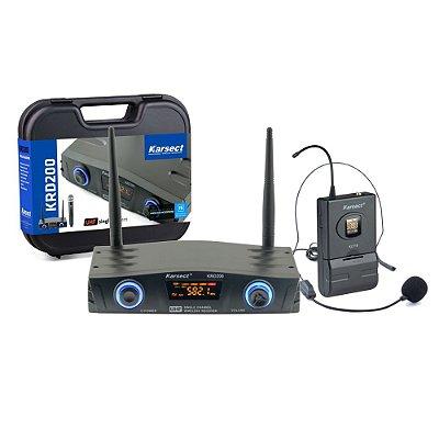Microfone Headset Karsect KRD200SH