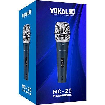 Microfone de Mão Vokal MC20