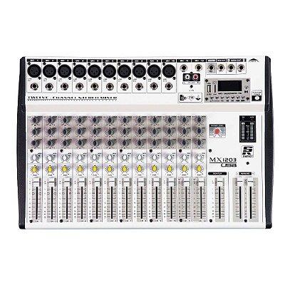 Mesa de Som 12 Canais Staner MX1203 USB 45731