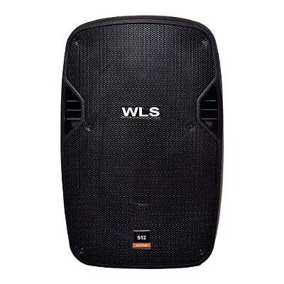 """Caixa Amplificada 12"""" WLS S12 250W"""