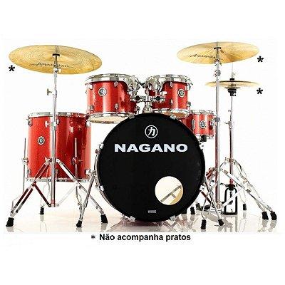 """Bateria Acústica 20"""" Nagano Garage Fusion WS"""