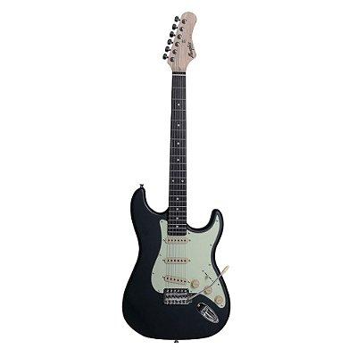Guitarra Memphis Stratocaster MG30 BK Fosco