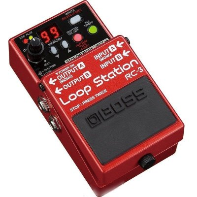 Pedal para Guitarra Boss Loop Station RC-3