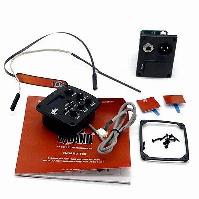 Pré-Amplificador Violão Completo Phoenix T65X B-Band