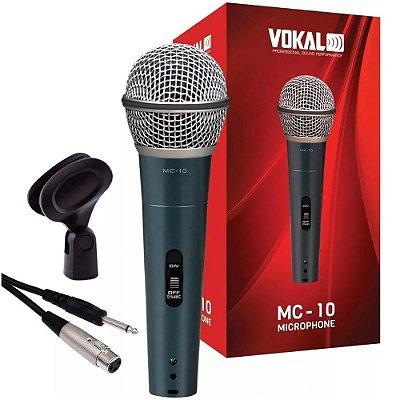 Microfone de Mão Vokal MC-10