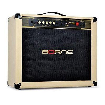 Amplificador Guitarra Borne Vorax 12100 Palha 100W