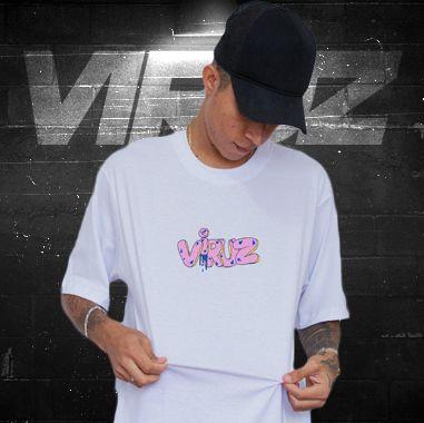 Camisa Viruz (Rosquinha) - Branca