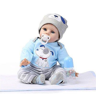 NPK DOLL 22 bebê Reborn Silicone Handmade lifelike baby Dolls Realistic Newborn Produto Importado Compra Segura Em Nosso Site. Entrega de 15 a 25 Dias.