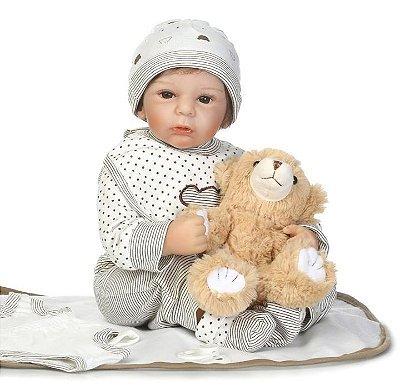 NPK 50CM Silicone Bebê Produto Importado Compra Segura Em Nosso Site. Entrega de 15 a 25 Dias.