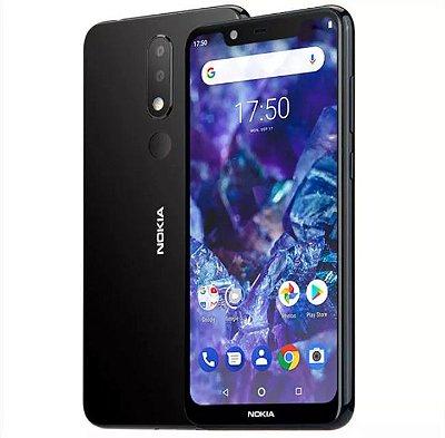 Nokia X5 5.49 Polegadas Android 8.1Impressao Digital 3GB 32 GB Rom Octa Core Produto Importado Compra Segura Em Nosso Site Entrega De 15 a 25 Dias úteis.