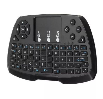 A3 2.4G Wireless Rechargeale Mini Teclado Touchpad Air Mouse para TV Caixa Mini PC