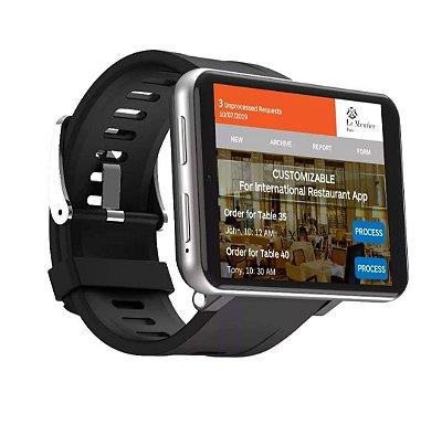 LEMFO LEM T 3G + 32G 2,86 polegadas HD Tela 4G-LTE Watch Phone Câmera de 5MP 2700MAH GPS Wifi Smart Watch Entrega em Até 25 Dias Úteis.