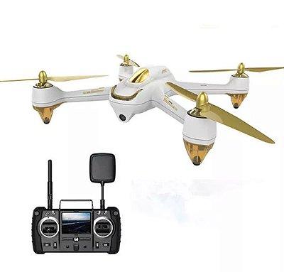 Hubsan H501S X4 5,8G FPV sem Escova com Câmera HD 1080P GPS RC Quadricóptero RTF - Ouro Preto Versão padrão Interruptor de modo Branco