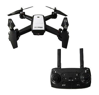 JDRC JD-X34F WIFI FPV Com 2MP Dupla Câmera de posicionamento de Fluxo Óptico Dobrável RC Drone Quadricóptero RTF
