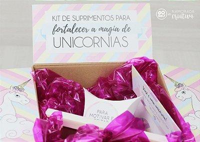 Kit de Suprimentos para Unicórnias