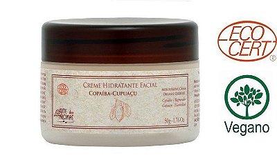 Creme Hidratante Facial - Copaíba e Cupuaçu 50g - Arte dos Aromas