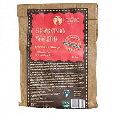 Shampoo sólido de Pitanga - 100g - Cativa Natureza