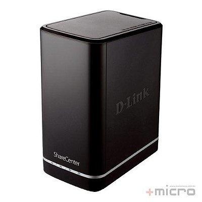 Servidor de armazenamento D-Link ShareCenter Cloud DNS-320L