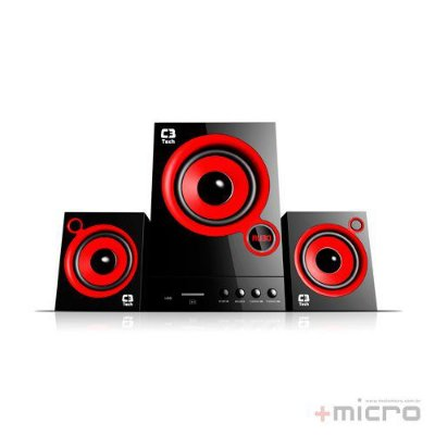 Speaker 2.1 C3 Tech SP-105UM BK