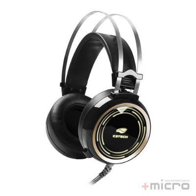 Headset gamer C3 Tech Black Kite PH-G310BK