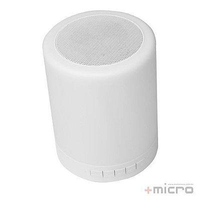 Speaker Bluetooth touch LED C3 Tech Luminus SP-BL1000WH
