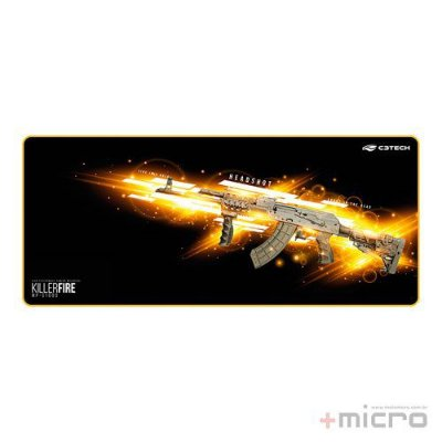 Mouse pad gamer Killer Fire C3 Tech MP-G1000
