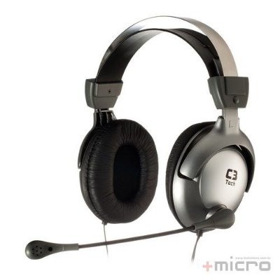 Headset gamer C3 Tech Raptor MI-2870RS