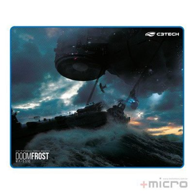 Mouse pad gamer Doom Frost C3 Tech MP-G510