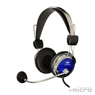 Headset gamer C3 Tech Pterodax MI-2322RC