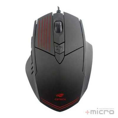 Mouse gamer USB C3 Tech MG-10BK