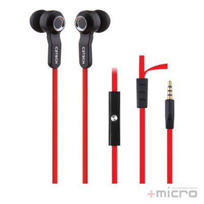 Fone de ouvido intra C3 Tech EP-102BRD