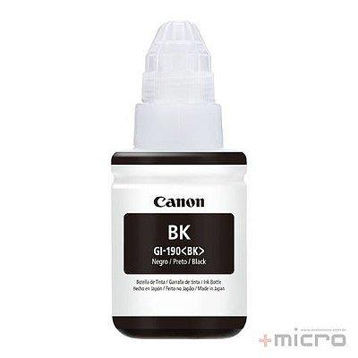 Garrafa de tinta Canon GI-190 preto