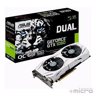 Placa de vídeo PCI-E Asus nVIDIA GTX 1060 6 Gb GDDR5 192 Bits