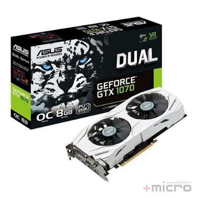 Placa de vídeo PCI-E Asus nVIDIA GTX 1070 8 Gb GDDR5 256 Bits