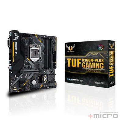 Placa-mãe Asus TUF B360M-PLUS GAMING
